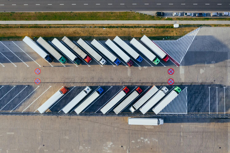 trucks parked - Case Studies