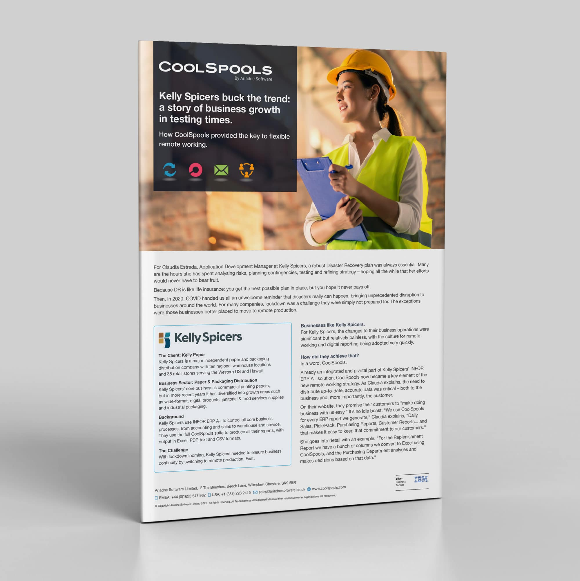 Coolspools Kelly Spicers Case Study